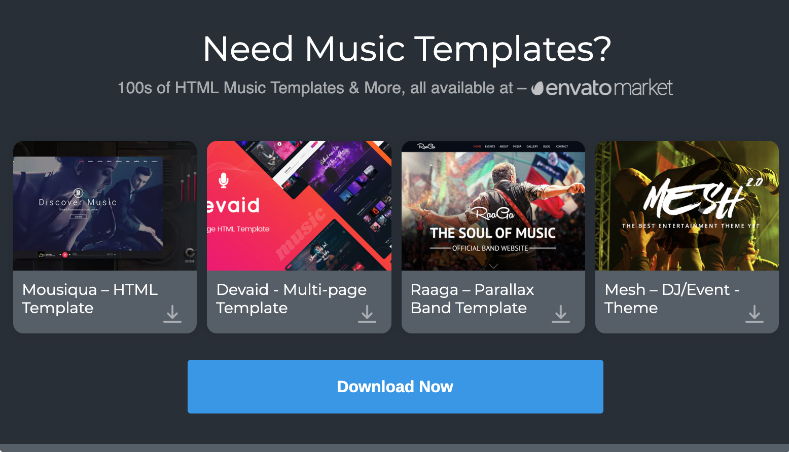 20 Stylish HTML Music player With User-Friendly Features 2019